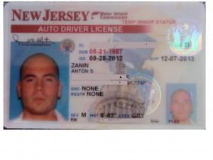 американские водительские права